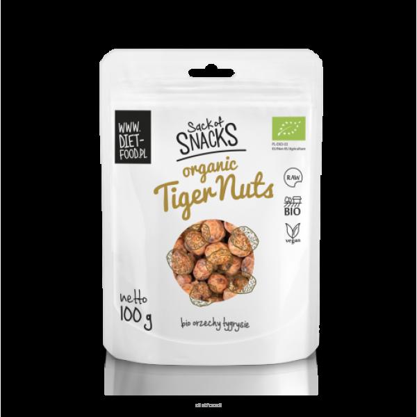Diet-Food Bio orzechy tygrysie - Organic tiger nuts 100g
