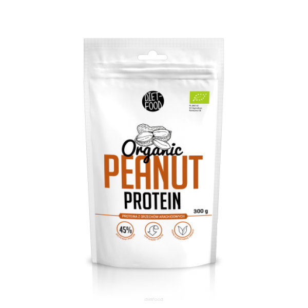 Diet-Food KETO Friendly - Bio Proteina z orzechów arachidowych 300g