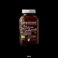 Diet-Food Bio spirulina + cordyceps- tabletki
