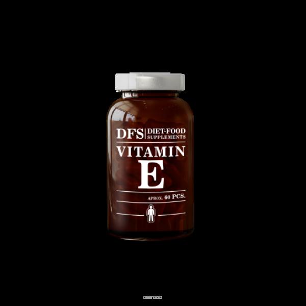 Diet-Food Naturalna Witamina E 500 mg - kapsułki 60 szt.