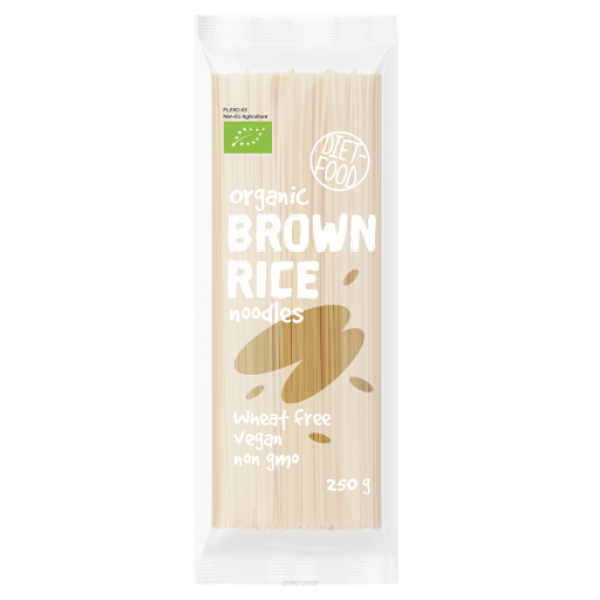 Diet-Food Bio makaron z brązowego ryżu