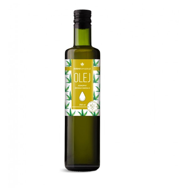 Dobre Konopie Hemp oil Omega 3 250ml