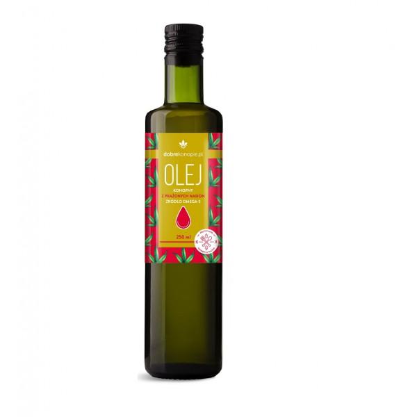 Dobre Konopie Hemp oil from roasted seeds 250ml