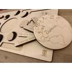 EduDoMo Fazy Księżyca - Puzzle edukacyjne