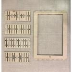 EduDoMo Krosno - Mega zestaw do nauki tkania