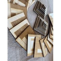 EduDoMo Mozaiki - zestaw sensoryczny - karty na 5 figur