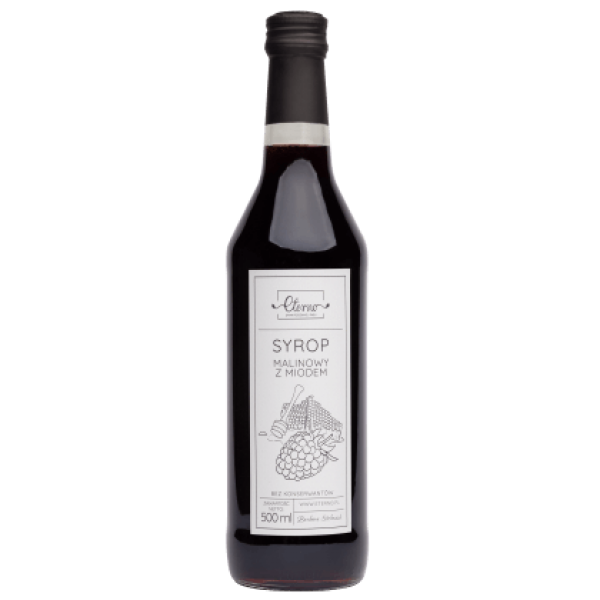 Eterno Raspberry syrup with honey 500ml