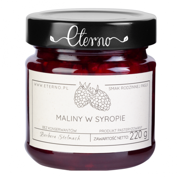 Eterno Raspberries in syrup 230g