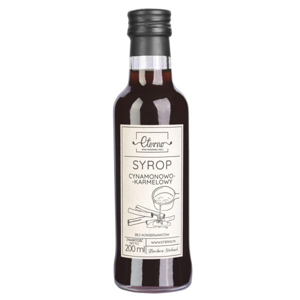Eterno Syrop cynamonowo-karmelowy 200ml