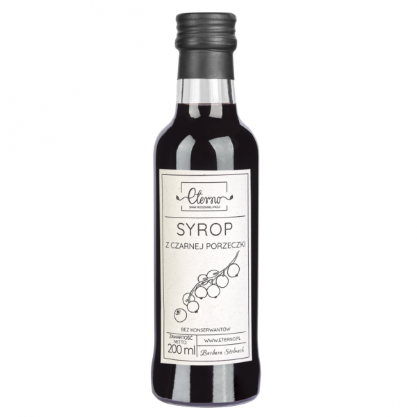Eterno Black Currant Syrup 200ml