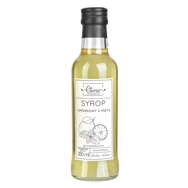 Eterno Lime syrup with mint 200ml