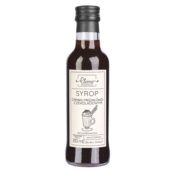Eterno Almond-chocolate syrup 200ml