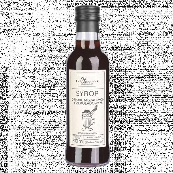 Eterno Syrop o smaku migdałowo - czekoladowym 200ml
