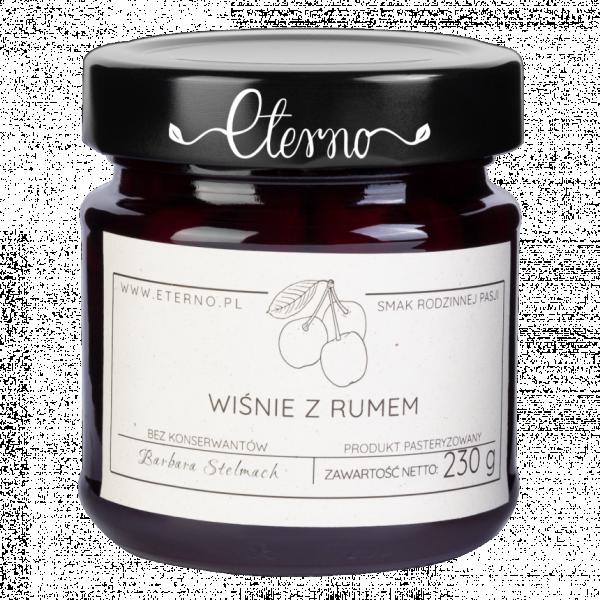Eterno Cherries with rum 230g