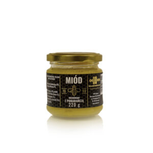 Fit Supply Cream honey with orange (Apimar) 220g