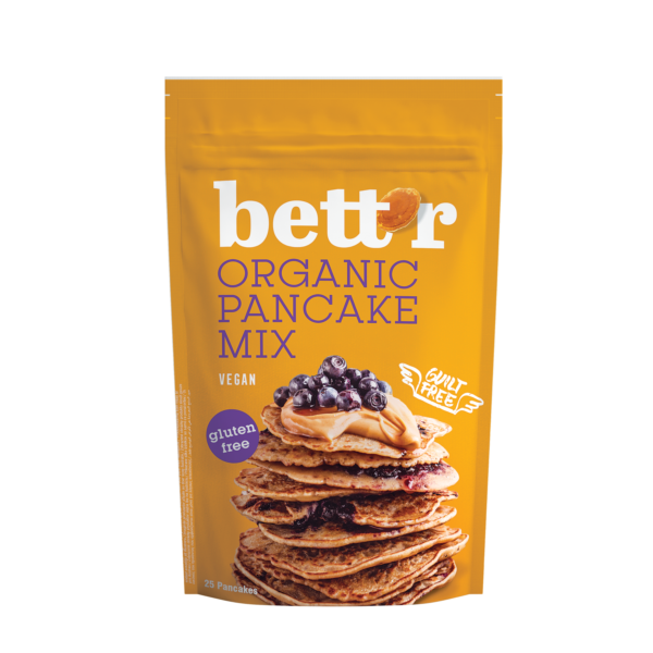 Fit Supply Betrr Gluten-free Pancake mix 400g (BIO)