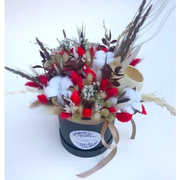 Flower Tavern Box 19 XS (rozmiar pudełka 12x12 cm)