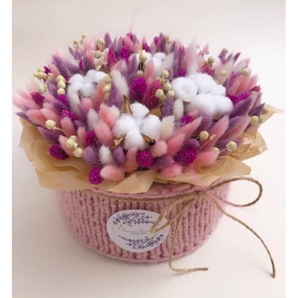 Flower Tavern Box 27 in a sweater (box size pudełka 22x12 cm)