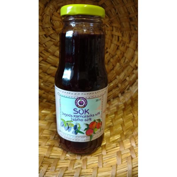 Folwark Wójtostwo Kamchatka berry juice 40% + apple 60% 300ml