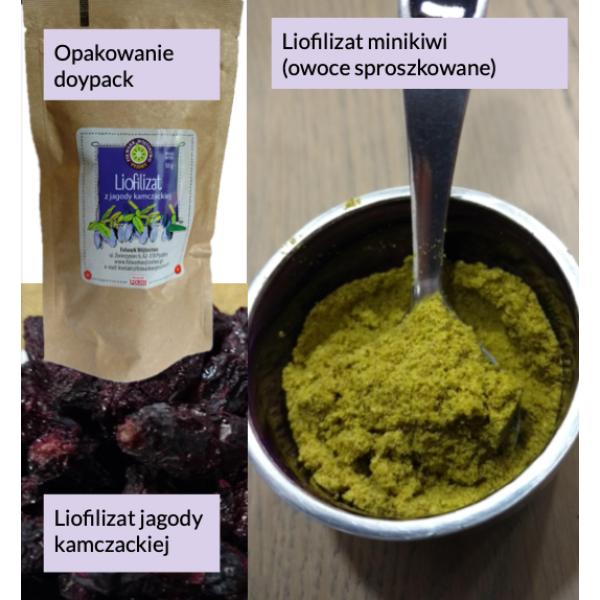 Folwark Wójtostwo Markskin lyophilisate - whole fruit 40g