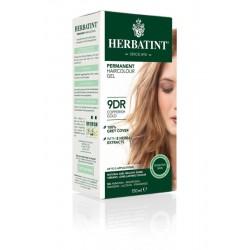 Herbatint Farba do włosów trwała 9DR MIEDZIANY ZŁOTY BLOND seria MIEDZIANO-ZŁOTA