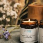 illipe Soy Candle Lavender Orange and Bergamot 180 ml