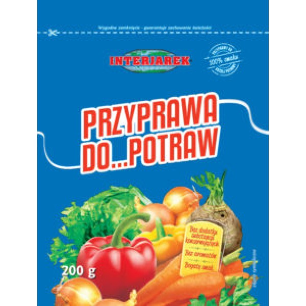 Interjarek Przyprawa do potraw 200g (20 szt.)