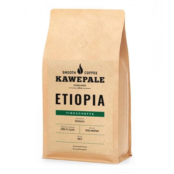 Kawe Pale Kawa Ziarnista ETIOPIA YIRGACHEFFE 250g