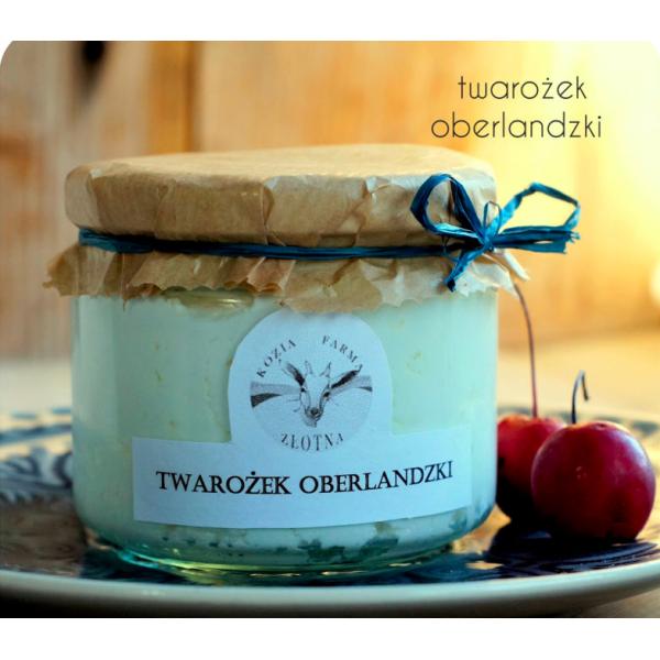 Kozia Farma Złotna Twarożek Oberlandzki