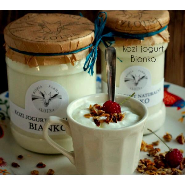 Kozia Farma Złotna Kozi jogurt BIANCO