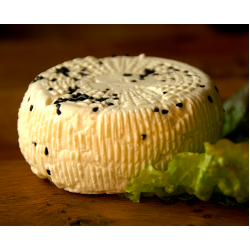 Kozia Farma Złotna Kozi ser naturalny z czarnuszką