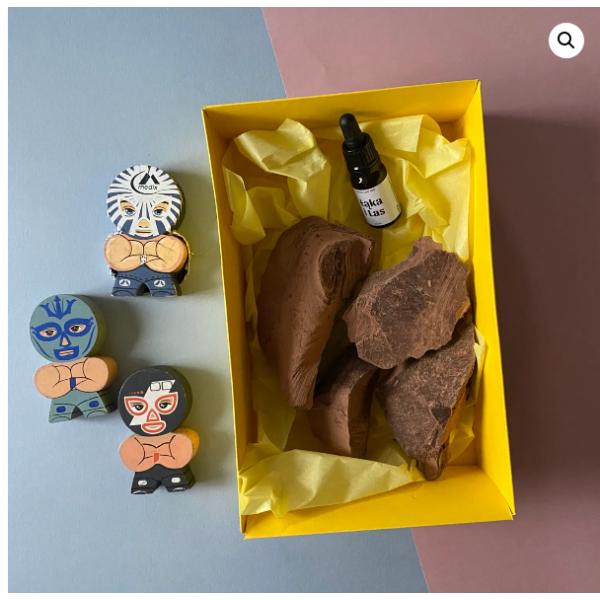 Łąka i Las Gift set - Ceremonial cocoa 0.5 kg + CBD extract 10%