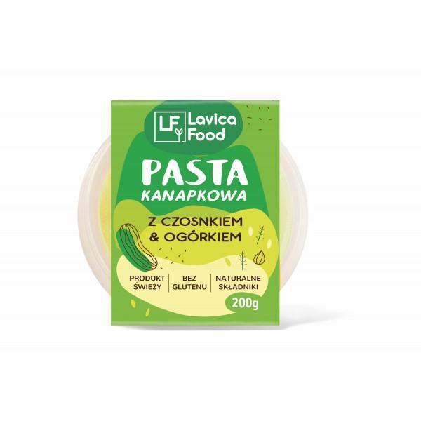 Lavica Gourmet Pasta kanapkowa z czosnkiem i ogórkiem 200g