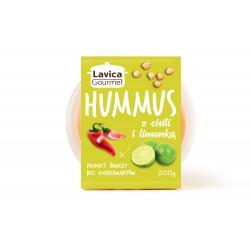 Lavica Gourmet Hummus Chilli z limonką 200g