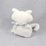 Lawendowy Ląd The white cat scented cuddly toy