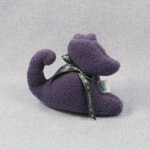 Lawendowy Ląd Dark purple dog scented cuddly toy