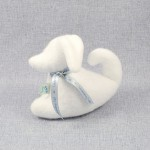 Lawendowy Ląd The white dog scented cuddly toy