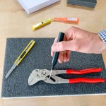 LeanCraft Zestaw narzędzi do obróbki pianki (nóż, ostrza, pisak)