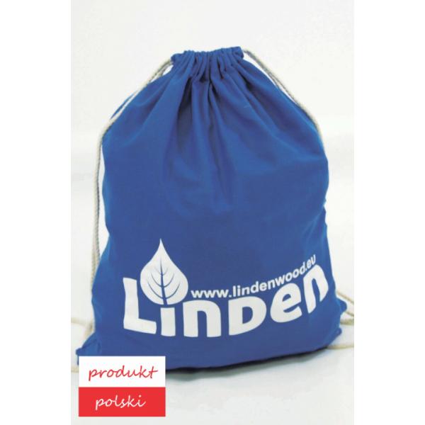 Linden Klocki Zestaw 200 szt. klocków w ekologicznym worku