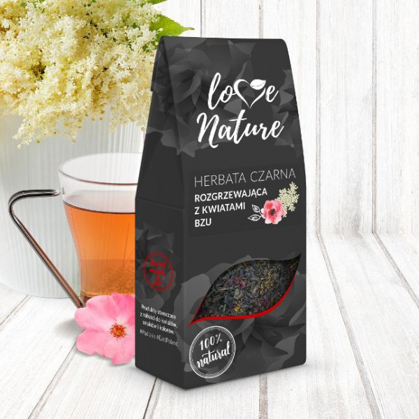 Love Nature Warming tea with lilac flowers 16 szt. x 50g