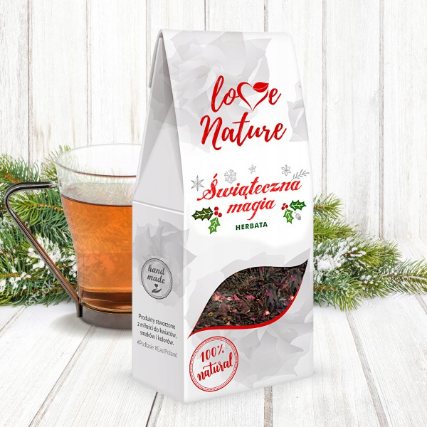 Love Nature WINTER TEA CHRISTMAS MAGIC 16 szt. x 50g