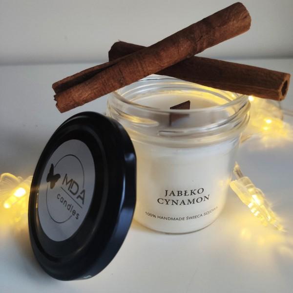 MDA Candles Apple-Cinnamon Soy Candle 120ml