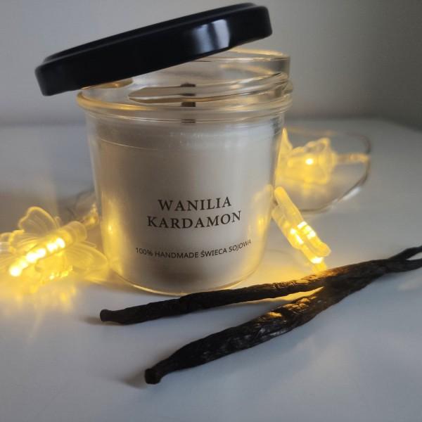 MDA Candles Vanilla - Cardamom Soy Candle 120ml