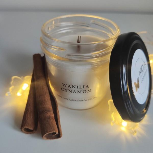 MDA Candles Vanilla-Cinnamon Soy Candle 120ml