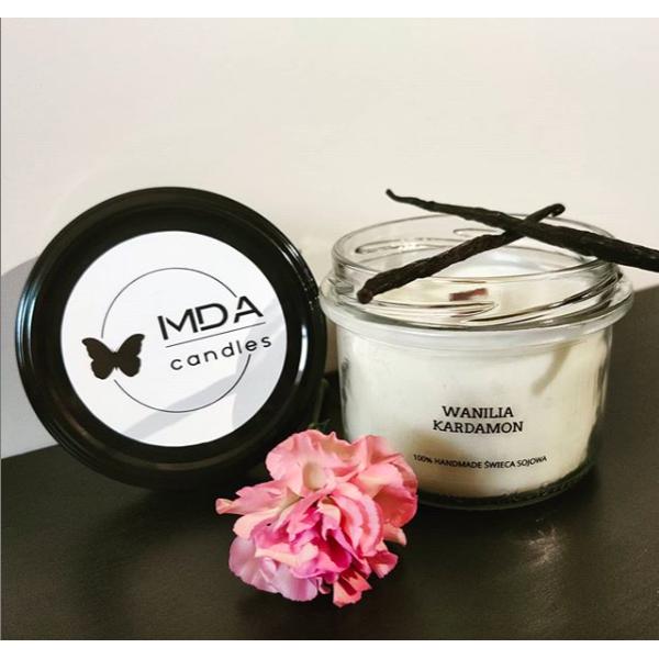 MDA Candles Vanilla - Cardamom Soy Candle 200ml