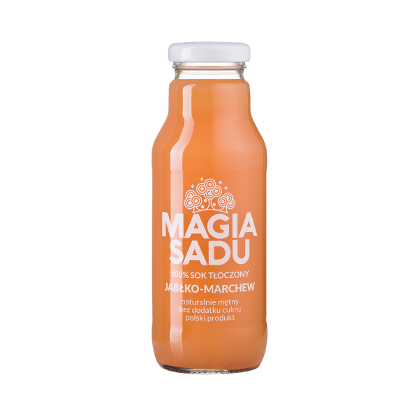 Magia Sadu Sok Jabłko–Marchew 300ml