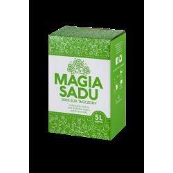 Magia Sadu Sok Jabłko–Mięta karton 5l