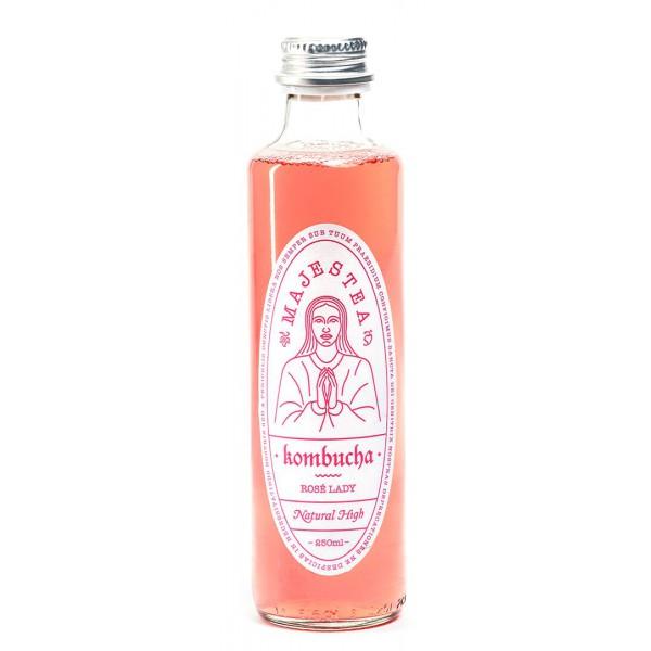 Majestea Kombucha TEA ROSE LADY / set of 12