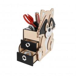 Makuto Art Organizer dziecięcy na biurko drewniany Szop XL