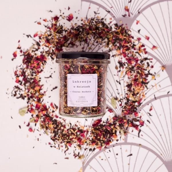Manufaktura Cieleśnica Herbata Czarna Lukrecja w Kwiatach